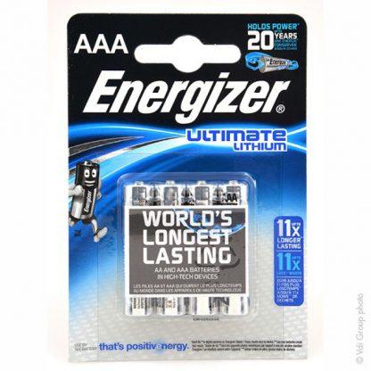Energizer ultimate lithium aaa paristo