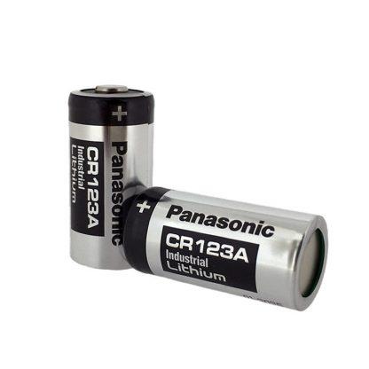 CR123 lithium paristo Panasonic laatua
