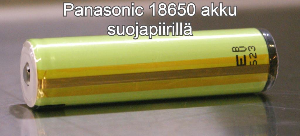Panasonic button top suojapiiri