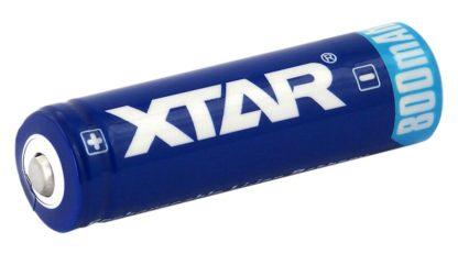 Xtar 14500 AA R6 akku suojapiirillä