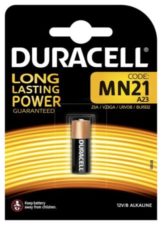Duracell MN21 A23 autohälyttimen paristo