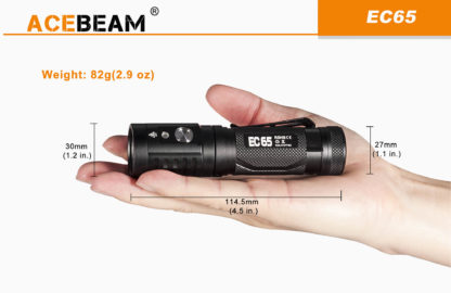 Acebeam EC65 taskulamppu EDC