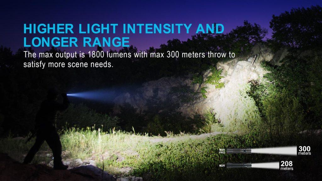 Olight taktinen EDC valo M2r Pro 21700 akku