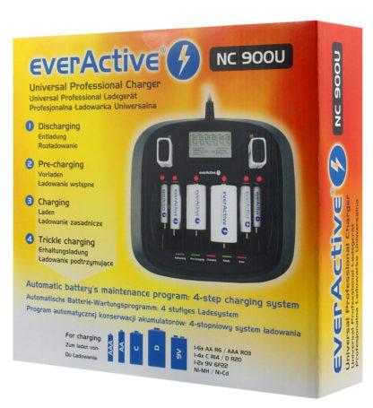 laturi everActive NC-900U pakkaus