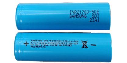 Samsung INR21700 50E 21700 akku 5000mAh