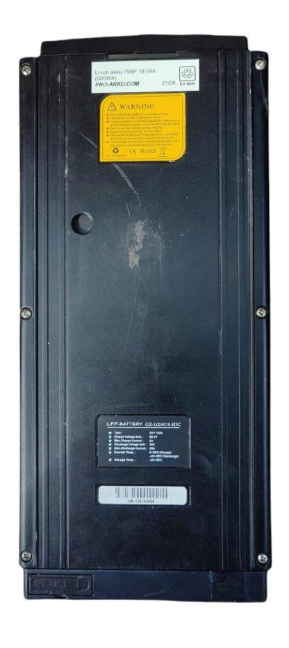LFP battery 24V sähköpyörän akku
