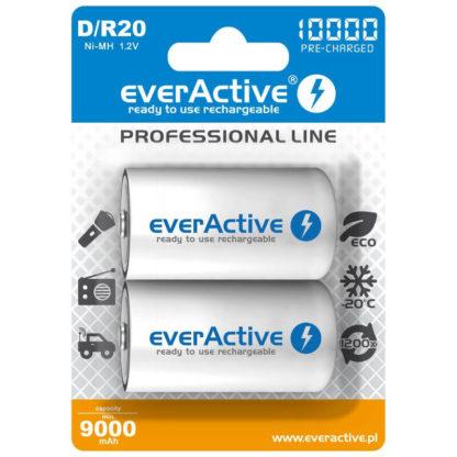 ladattava D paristo Everactive