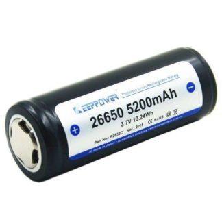 keeppower 26650 5200mAh