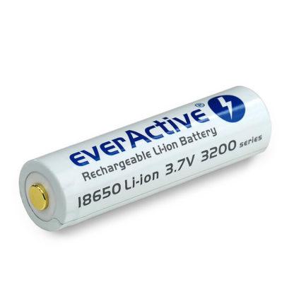 everactive 18650 akku suojapiirillä