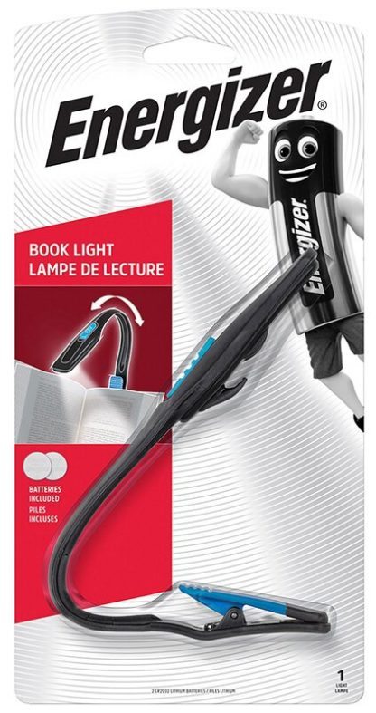 energizer book light kirjan lukuvalo