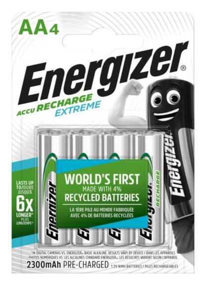 energizer ladattavat aa paristot 2300mAh